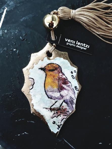 Bird lucky charm