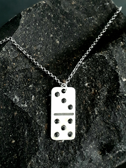 Domino tile pendant big