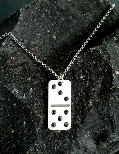 Domino tile pendant big
