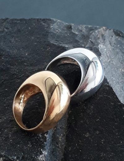Eggshell ring