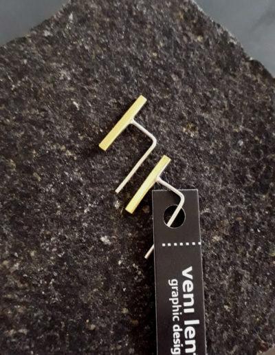 Itsy Bitsy Teenie Weenie earrings