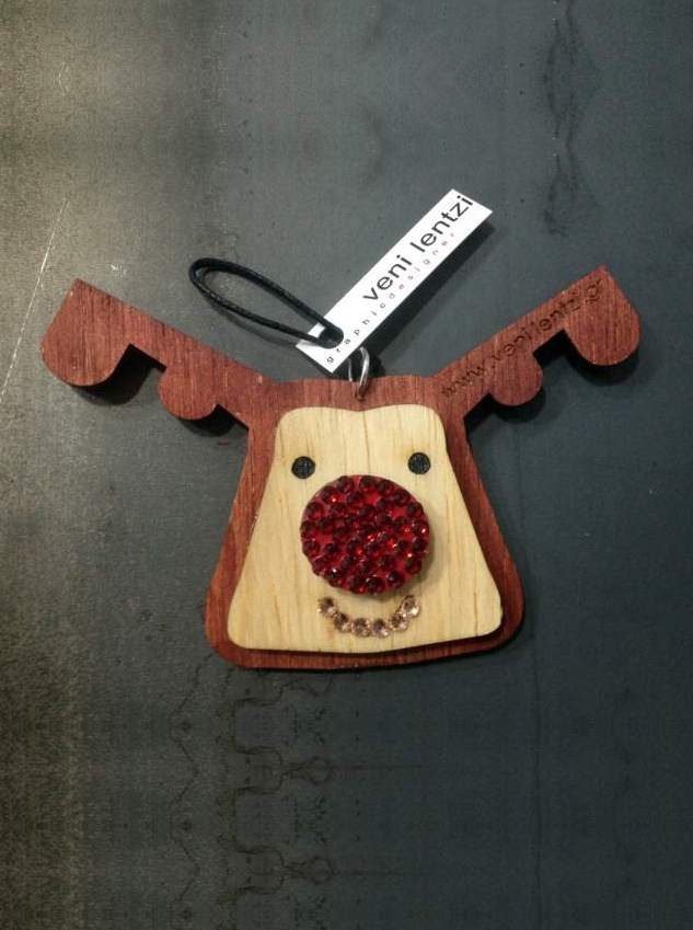Rudolf deer cristmas tree gift