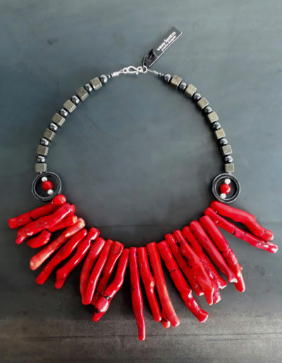 Voodoo coral necklace